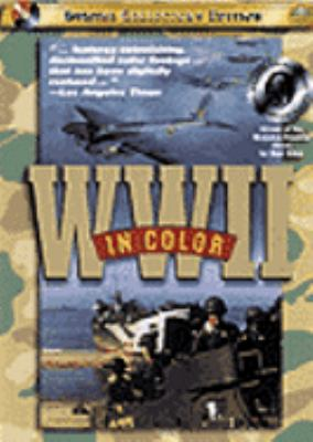 Cover image for World War II in color