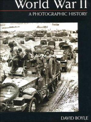 Cover image for World war II : a photographic history