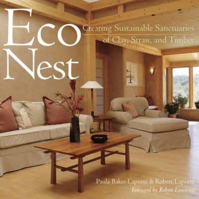 Cover image for Econest : creating sustainable sanctuaries of clay, straw, and timber