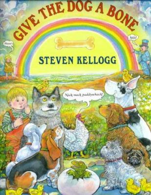 Cover image for Give the dog a bone
