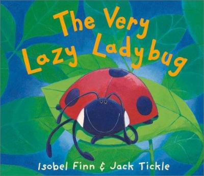 Cover image for The very lazy ladybug