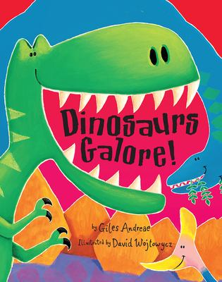 Cover image for Dinosaurs galore!