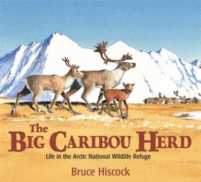 Cover image for The big caribou herd : life in the Arctic National Wildlife Refuge