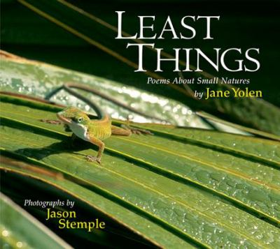 Cover image for Least things : poems about small natures