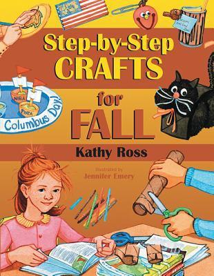 Cover image for Step-by-step crafts for fall