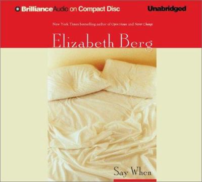Cover image for Say when