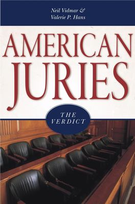 Cover image for American juries : the verdict
