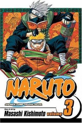 Cover image for Naruto. Vol. 3, Bridge of courage