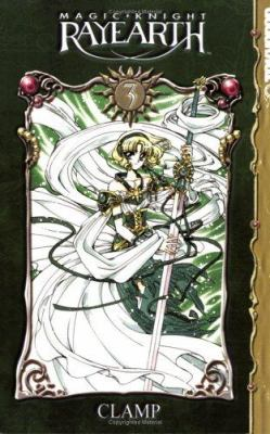 Cover image for Magic knight Rayearth. Volume 3