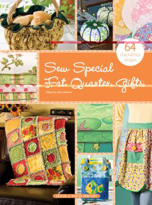 Cover image for Sew special fat quarter gifts