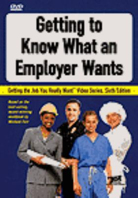 Cover image for Getting to know what an employer wants