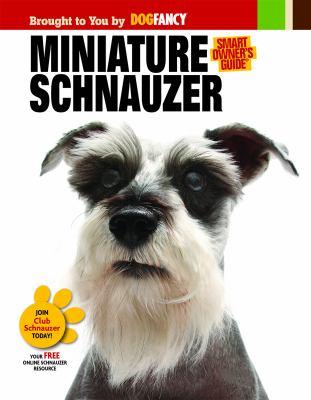 Cover image for Miniature schnauzer