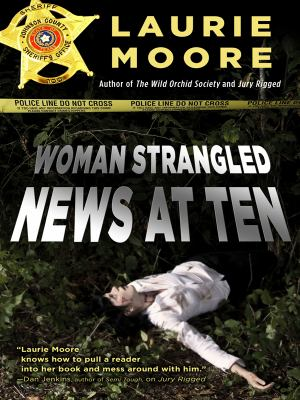 Cover image for Woman strangled-- news at ten