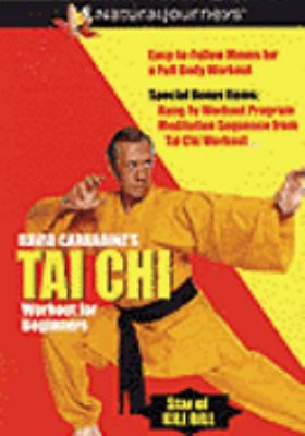 Cover image for David Carradine's Tai Chi workout for beginners