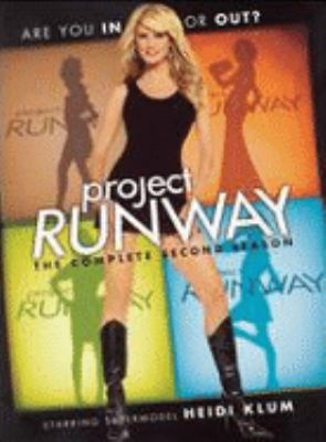 Cover image for Project runway. The complete second season