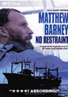 Cover image for Matthew Barney no restraint