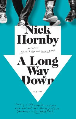 Cover image for A long way down