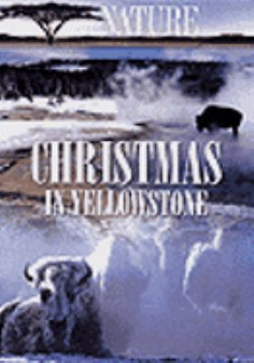 Cover image for Christmas in Yellowstone