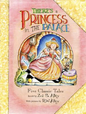 Cover image for There's a princess in the palace