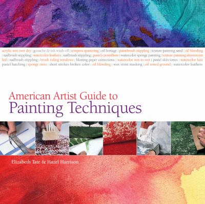 Cover image for American artist guide to painting techniques