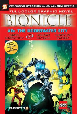 Cover image for Bionicle. 6, The underwater city