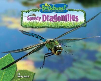 Cover image for Speedy dragonflies