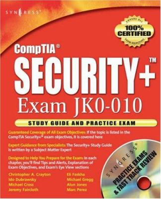 Cover image for Security+ study guide & DVD training system