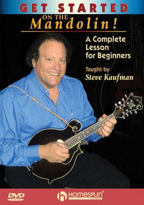 Cover image for Get started on the mandolin! a complete lesson for beginners