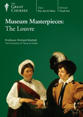 Cover image for Museum masterpieces the Louvre
