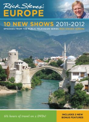 Cover image for Rick Steves' Europe. 10 new shows 2011-2012