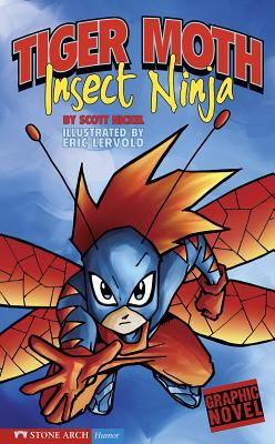 Cover image for Tiger Moth, insect ninja