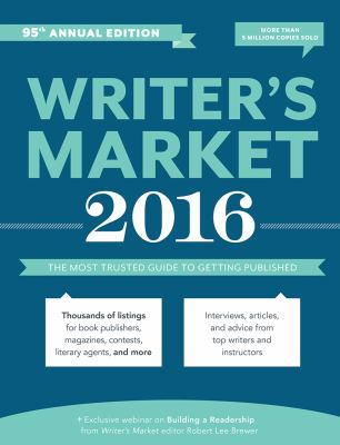 Cover image for Writer's market 2016