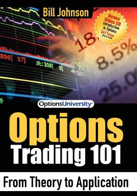 Cover image for Options trading 101 : from theory to application