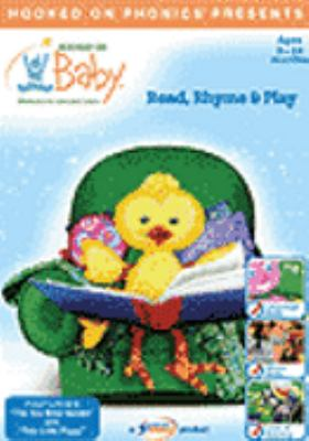 Cover image for Read, rhyme & play