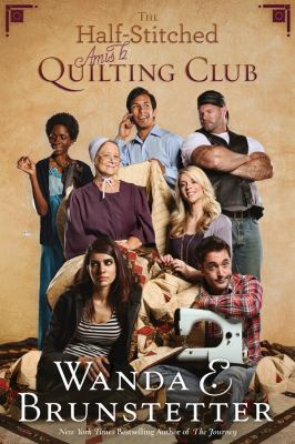 Cover image for The half-stitched Amish quilting club