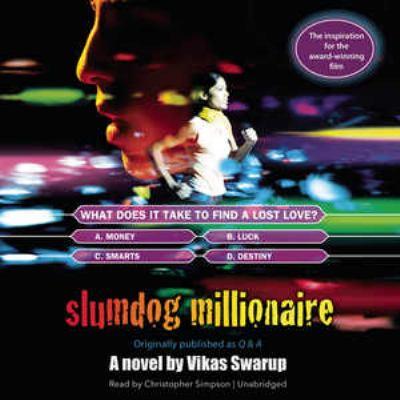 Cover image for Slumdog millionaire