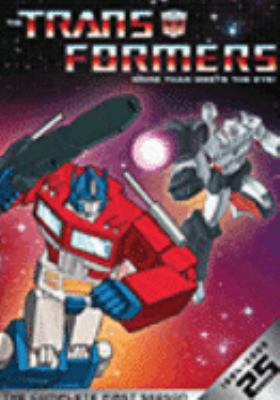 Cover image for The Transformers. The complete first season more than meets the eye!