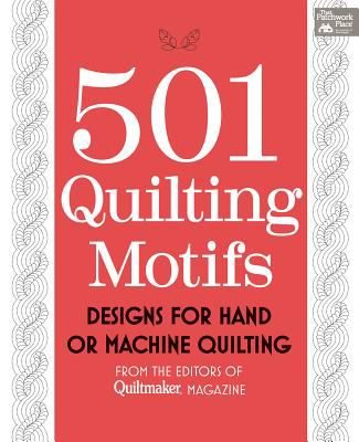 Cover image for 501 quilting motifs : designs for hand or machine quilting