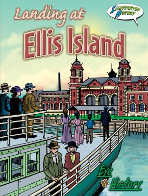 Cover image for Landing at Ellis Island