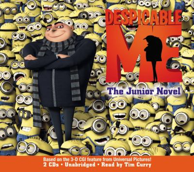Cover image for Despicable me the junior novel