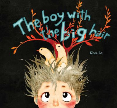 Cover image for The boy with the big hair
