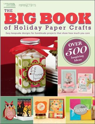 Cover image for The big book of holiday paper crafts