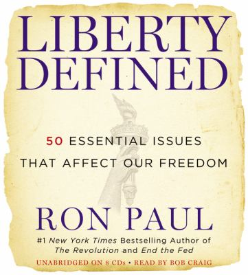 Cover image for Liberty defined