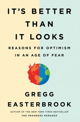 Cover image for It's better than it looks : reasons for optimism in an age of fear