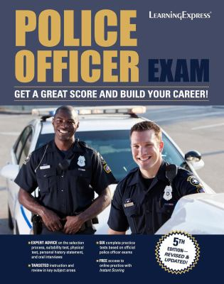 Cover image for Police officer exam.