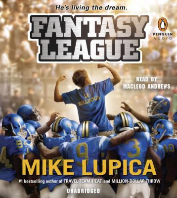 Cover image for Fantasy league