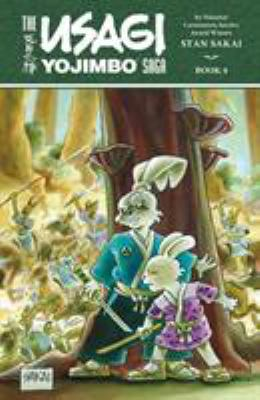 Cover image for The Usagi Yojimbo saga. Book 4