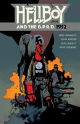 Cover image for Hellboy and the B.P.R.D. 1952.