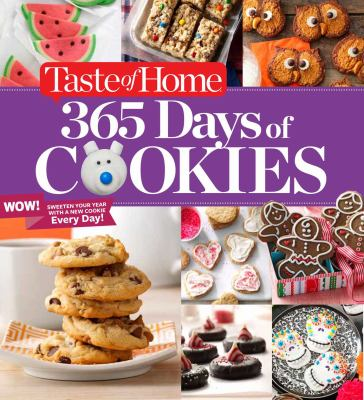 Cover image for Taste of Home 365 days of cookies