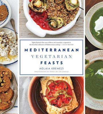 Cover image for Mediterranean vegetarian feasts